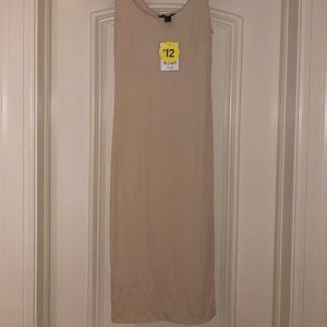 Forever 21 slim nude dress